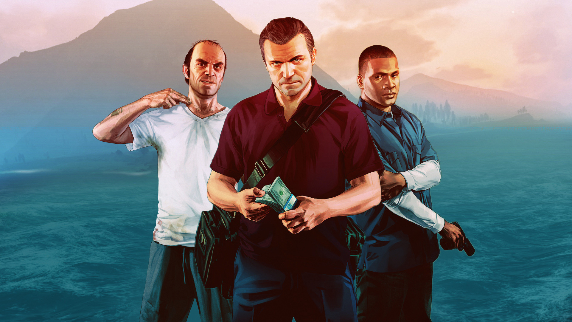 Check Out This Ps Wallpaper Contributed By Bart For Gta V Thanks