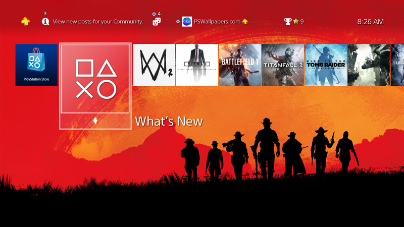 How To Install A Custom Wallpaper On Your Ps4 Ps Wallpapers