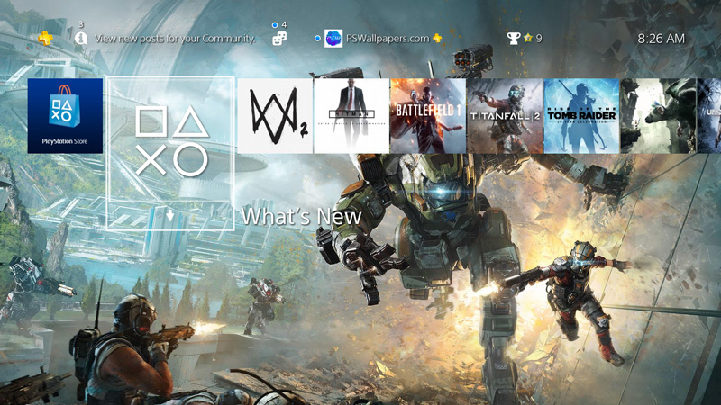 Wallrunning at its best, with this custom wallpaper for Titanfall 2.