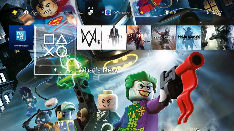 Lego Batman Ps Wallpapers
