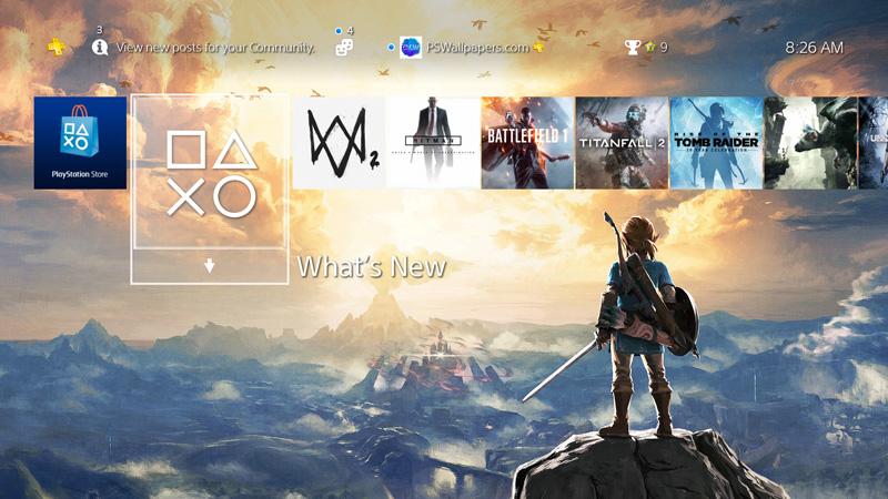 Zelda Breath Of The Wild Ps4 the legend of zelda: breath of the wild – ps wallpapers