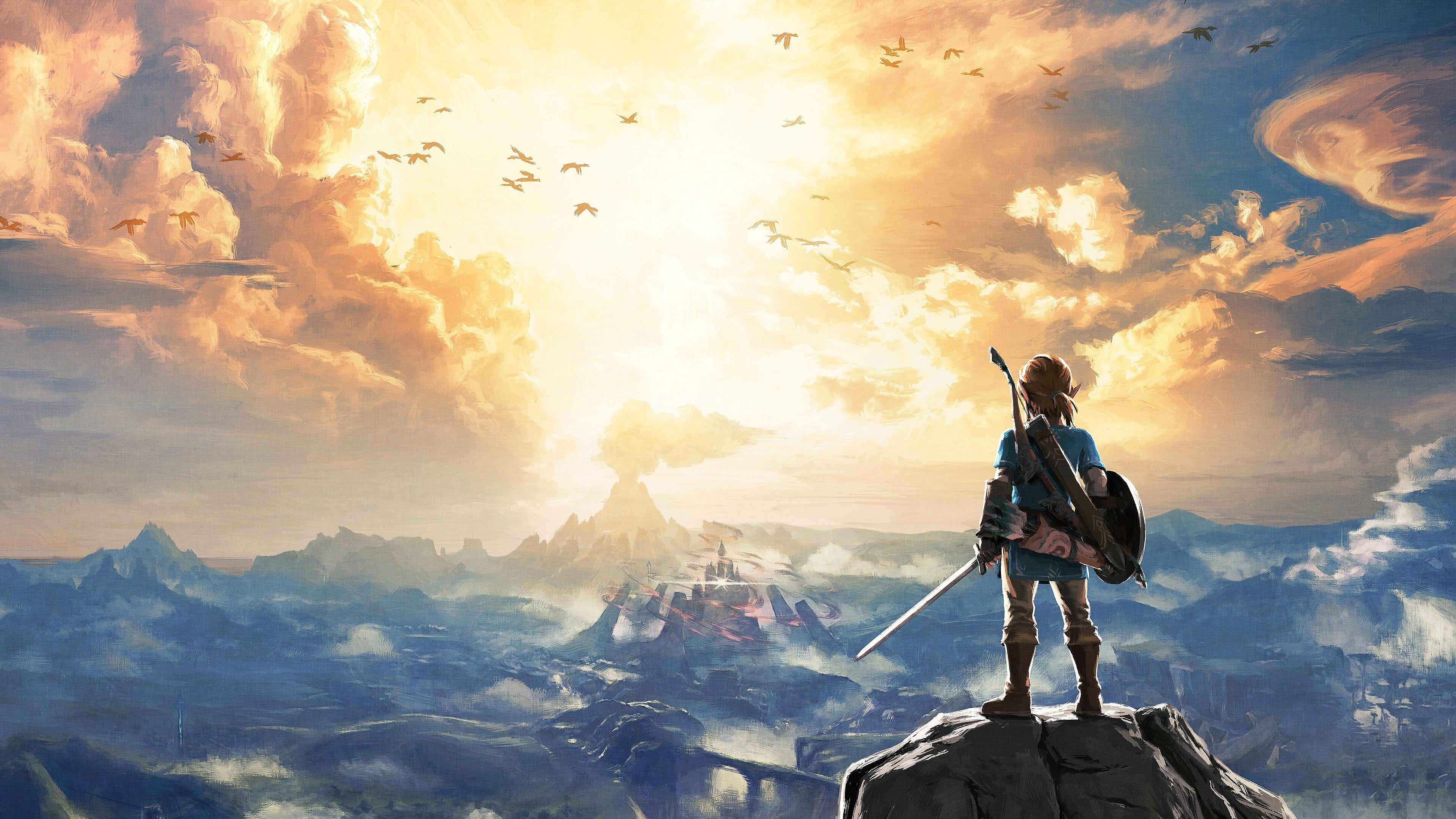 The Legend Of Zelda Breath Of The Wild Ps Wallpapers