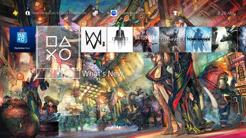 Final Fantasy XIV – PS Wallpapers