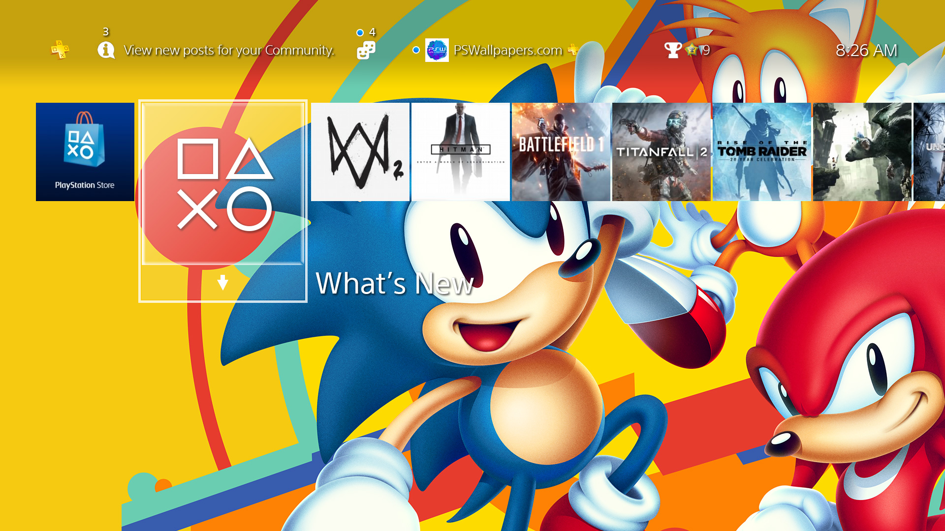 Sonic Mania Ps Wallpapers