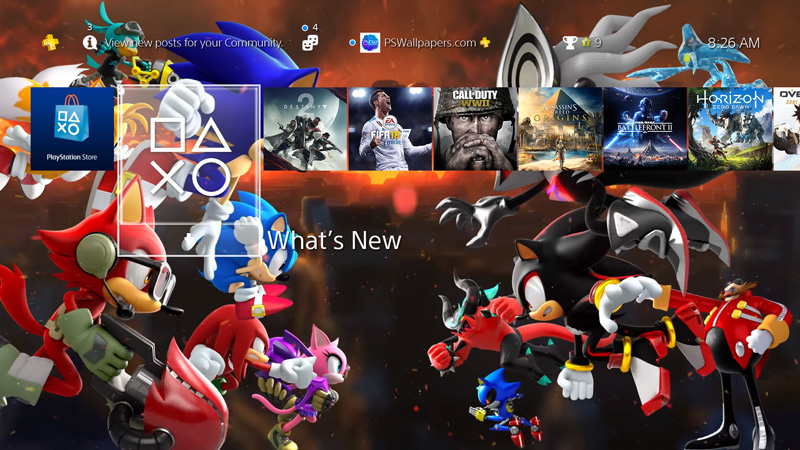Ps Wallpapers Custom Playstation 4 Wallpapers